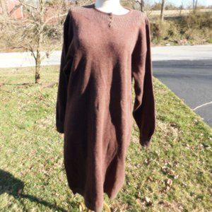 Luciano Barbera Italy Sweater Dress sz 44